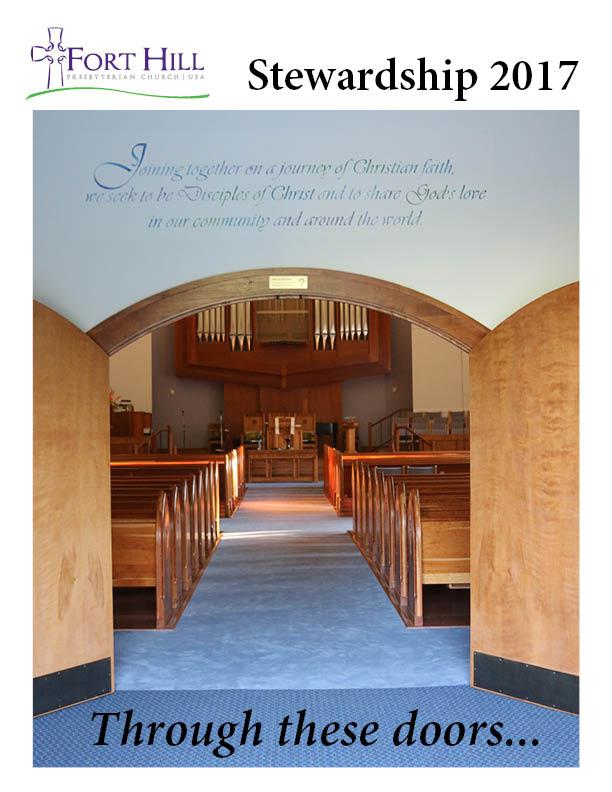 Stewardship 2017 brochure